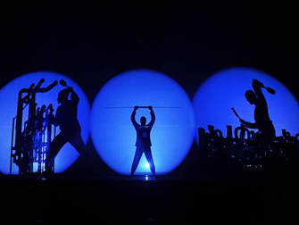 Blue Man Group at Monte Carlo Las Vegas