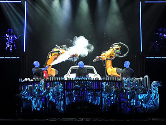 Blue Man Group in Las Vegas Monte Carlo