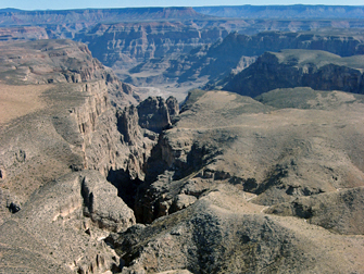 Grand Canyon - Vista do Helicóptero