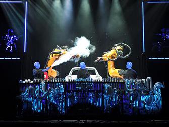 Ingressos para Blue Man Group em Las Vegas - Palco