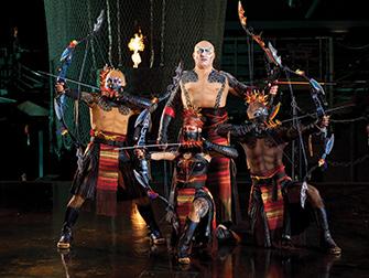 Ingressos para Cirque du Soleil KÀ - Arqueiro