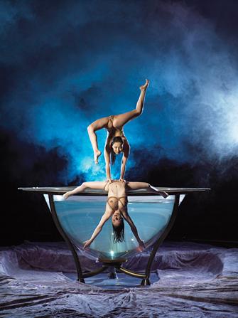 Ingressos para Cirque du Soleil Zumanity - Acrobacias