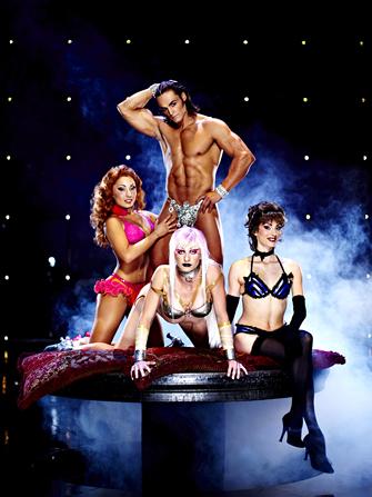 Ingressos para Cirque du Soleil Zumanity - Elenco