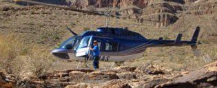 Passeios de Helicóptero no Grand Canyon