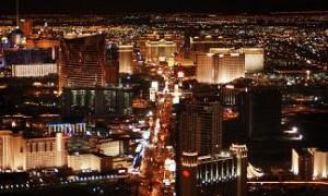 Las Vegas Strip a noite