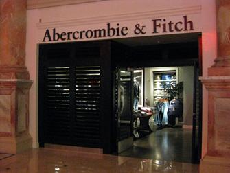 Compras em Las Vegas - Abercrombie & Fitch