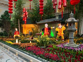 Hotel Bellagio em Las Vegas - Estufas e Jardim