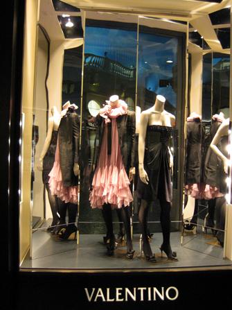 Hotel Caesars Palace em Las Vegas - Valentino no Forum Shops