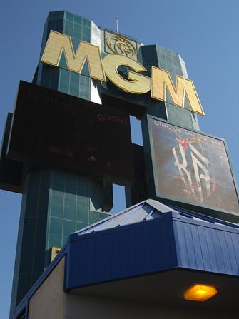 Hotel MGM Grand em Las Vegas - Exterior