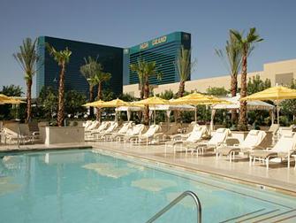 Hotel MGM Grand em Las Vegas - Piscina