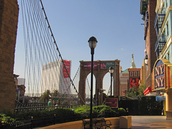 Hotel New York New York em Las Vegas - Brooklyn Bridge