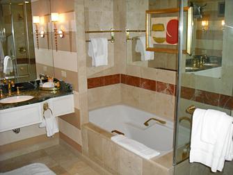 Hotel The Venetian em Las Vegas - Banheiro