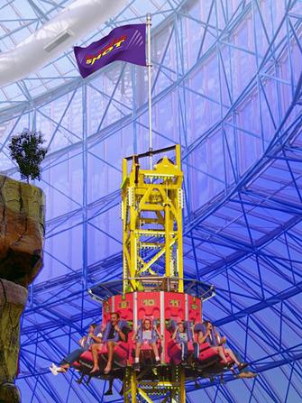 Hotel Circus Circus em Las Vegas - Sling Shot