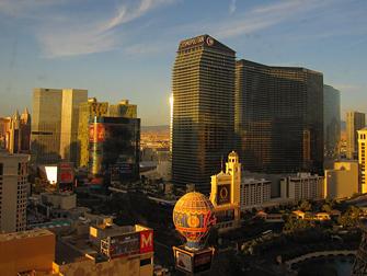 Hotel Cosmopolitan em Las Vegas - Vista
