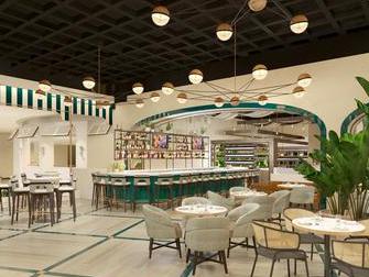 Hotel Mirage em Las Vegas - Osteria Costa