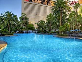 Hotel Mirage em Las Vegas - Piscina