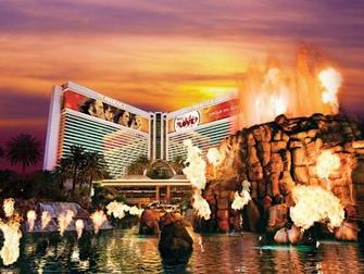 Hotel Mirage em Las Vegas - Vulcão