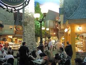 Hotel Paris em Las Vegas - Alimentação