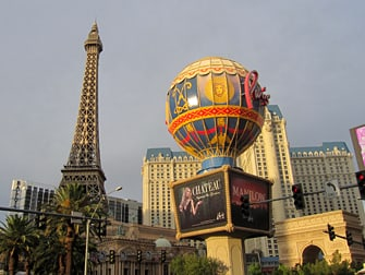 Hotel Paris em Las Vegas - Exterior