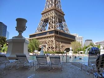 Hotel Paris em Las Vegas - Piscina