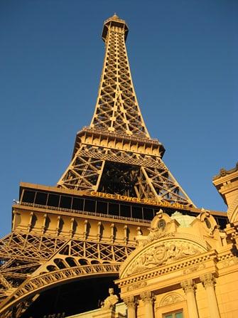 Hotel Paris em Las Vegas - Torre Eiffel