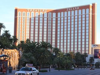 Hotel Treasure Island em Las Vegas - Exterior
