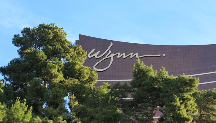 Hotel Wynn em Las Vegas - Exterior