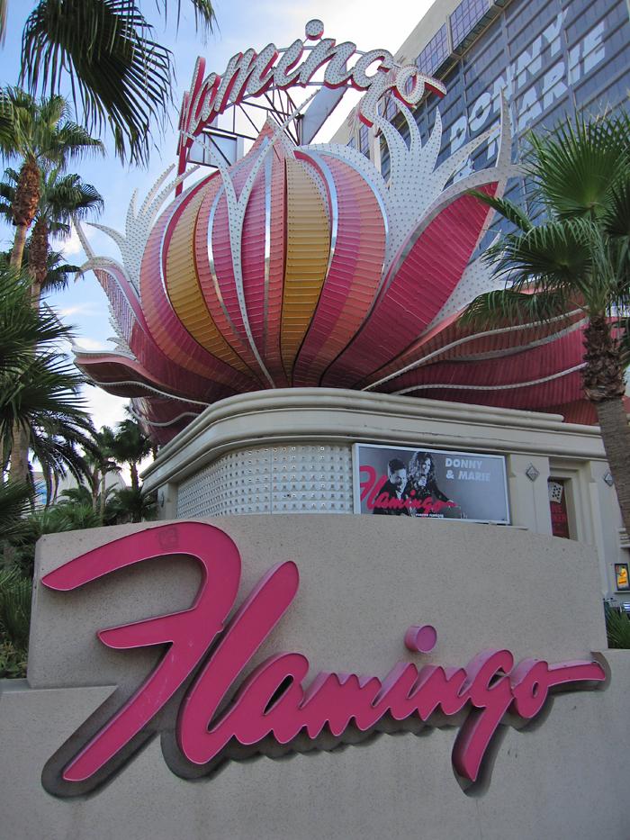 Hotel Flamingo em Las Vegas - Exterior