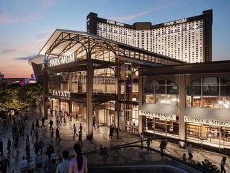Hotel Park MGM em Las Vegas - Exterior