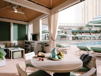 Hotel Park MGM em Las Vegas - Piscina