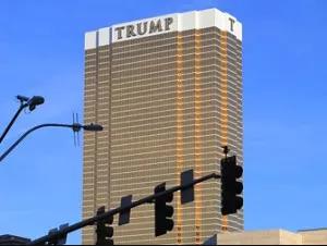 Trump hotel em Las Vegas