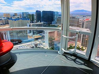 LINQ High Roller em Las Vegas - Interior