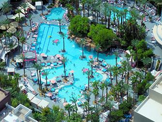 LINQ High Roller em Las Vegas - Piscina