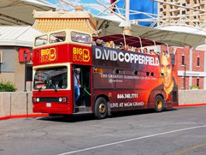 Ônibus Turístico Big Bus em Las Vegas