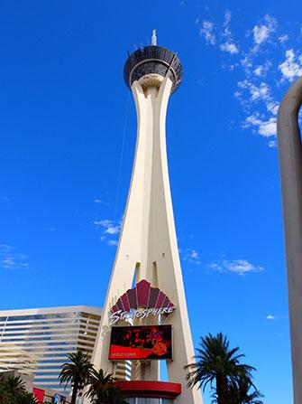 Stratosphere Tower em Las Vegas - Palmeiras