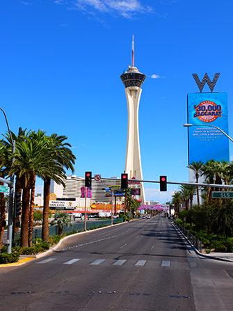Stratosphere Tower em Las Vegas - W Hotel
