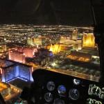Top 10 em Las Vegas - Paseio Noturno de Helicóptero