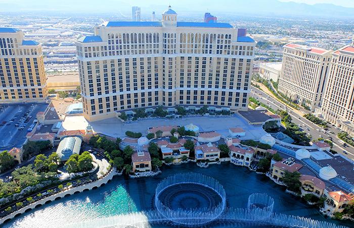 Ingressos para a Torre Eiffel em Las Vegas - Bellagio Fountain