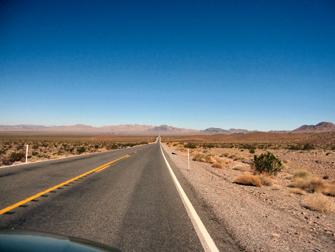 Vale da Morte - Estrada