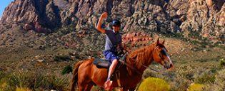 Passeio a Cavalo no Red Rock Canyon em Las Vegas