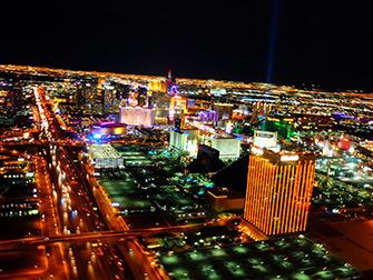 Passeios de Helicóptero em Las Vegas - Luzes