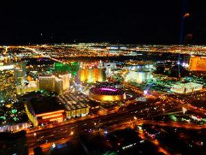 Passeios de Helicóptero em Las Vegas - Vista noturna