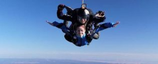 Paraquedismo em Las Vegas
